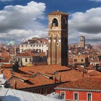 Schiebepuzzle mit dem Motiv Über den Dächern von Venedig