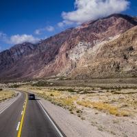 Schiebepuzzle mit dem Motiv Wüstenstrasse in Chile