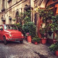 Schiebepuzzle mit dem Motiv Italienischer Klassiker