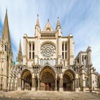 Schiebepuzzle mit dem Motiv Kathedrale von Chartres
