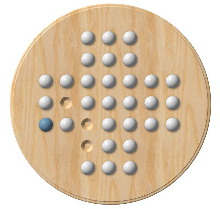 Solitär Brettspiel Rätsel Hilfe