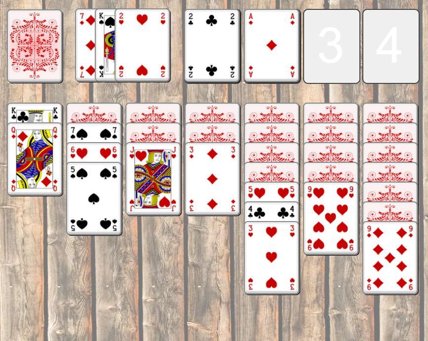 Solitär Kartenspiel Rätsel Hilfe