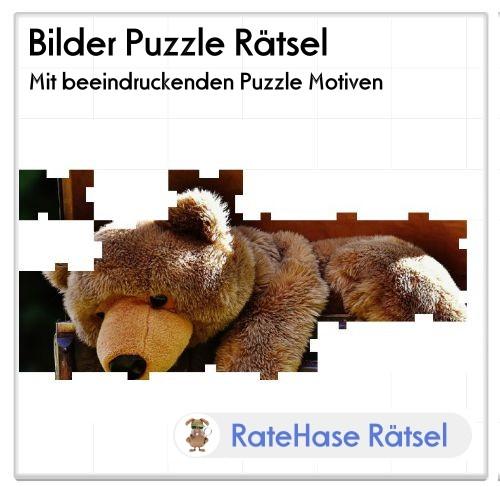 Das ratehase.de Bilder Puzzle Rätsel