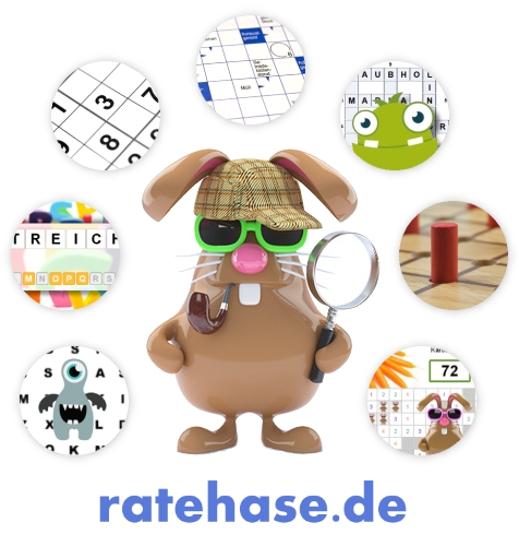 Das ratehase.de Logo