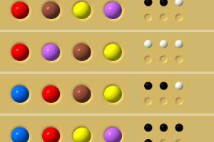 SuperHase Spiel funktioniert wie Mastermind - Löse den 5-stelligen Farbencode (sehr schwierig) - Finde mit Logik und Tatik den gesuchten Farb-Code.